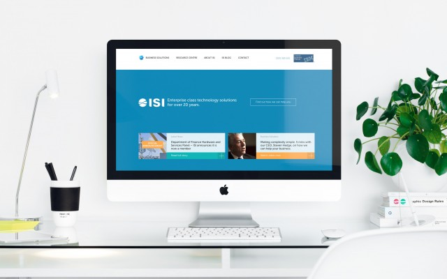 ISI Website Design